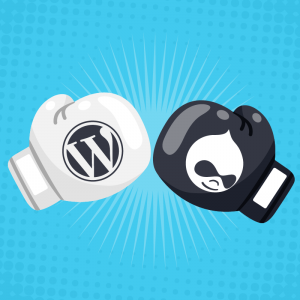 ¿Drupal o WordPress?
